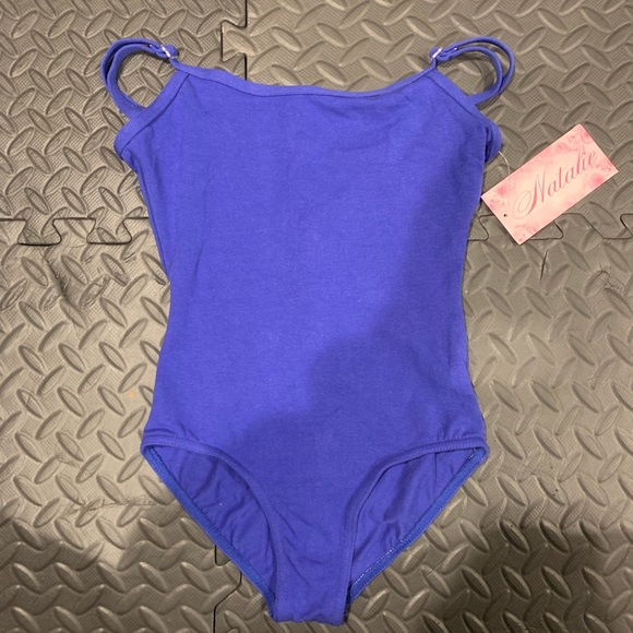 Natalie Dancewear Other - NEW child's medium royal blue leotard